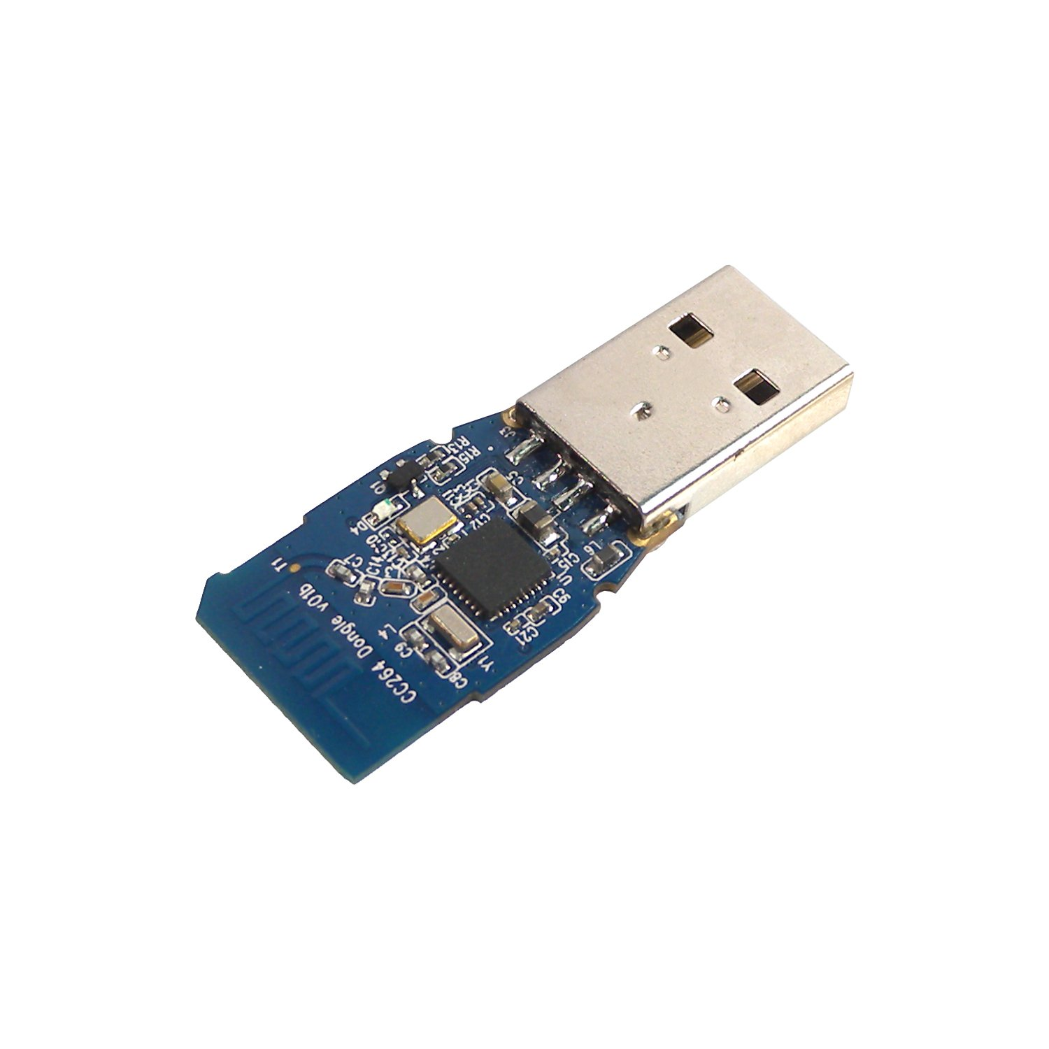 MakerSpot CC2640 Bluetooth Low Energy BLE 5.0 USB HID Dongle (Backward Compatible with BLE 4.0/4.1/4.2) by MakerSpot