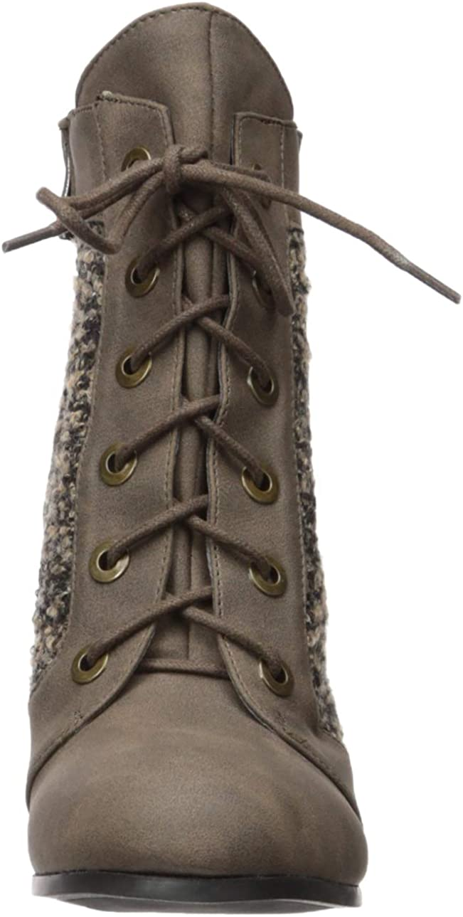 2 Lips Too Women's Too Lazlo Ankle Boot Brown