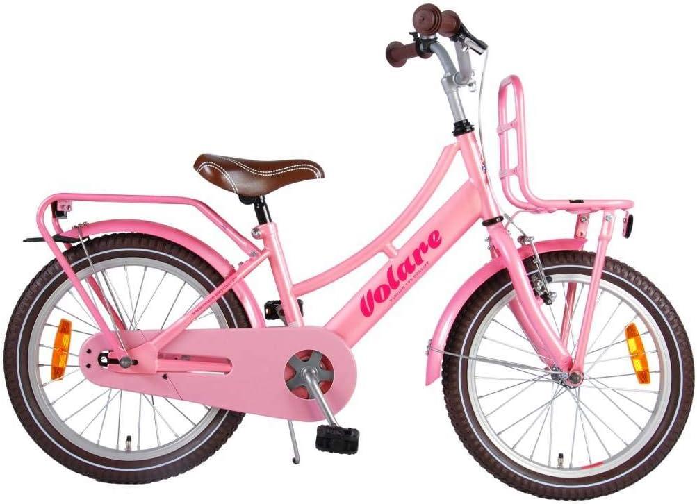 Bicicleta Niña Excellent 18 Pulgadas Freno Delantero al Manillar y ...