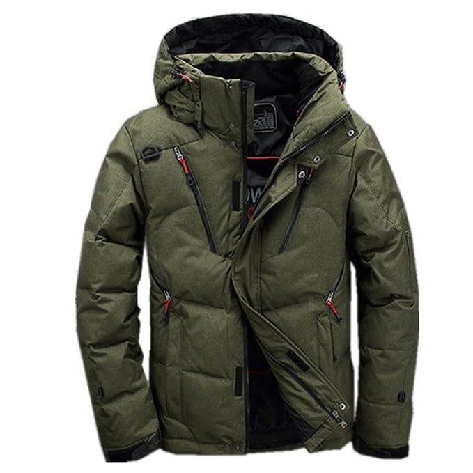 80bb73380c37 90% White Duck Down Jacket Men s Coat Snow Coat Winter Down Jacket   Amazon.ca  Clothing   Accessories
