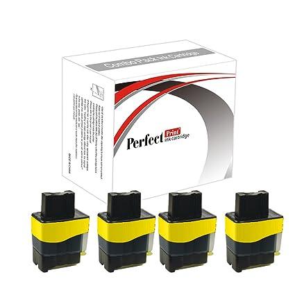 PerfectPrint - 4 amarillo Cartucho de tinta Compatible sustituir ...