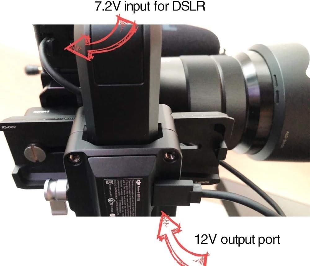 DRRI DJI Ronin-S Gimbal to NP-FW50 Dummy Battery for Sony A7 A7R A7S A7II A7RII A7SII DJI to NP-FW50