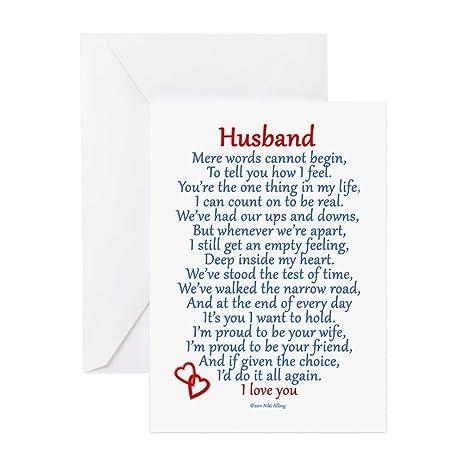 Amazon cafepress husband love greeting card note card cafepress husband love greeting card note card birthday card blank inside m4hsunfo