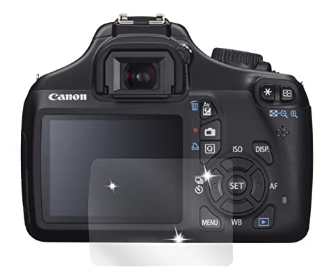 dipos I 6X Protector de Pantalla Compatible con Canon EOS 1100D ...