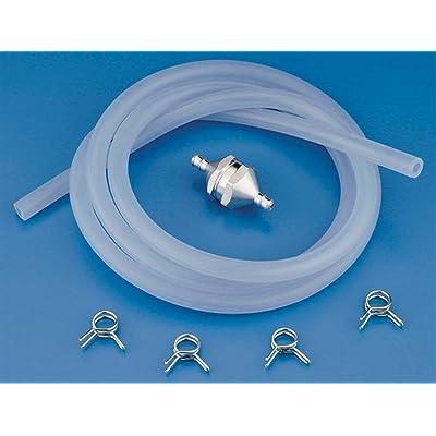 Du-Bro 680 Medium Tubing, Filter, Fuel Line Clip Combo Pack: Toys & Games