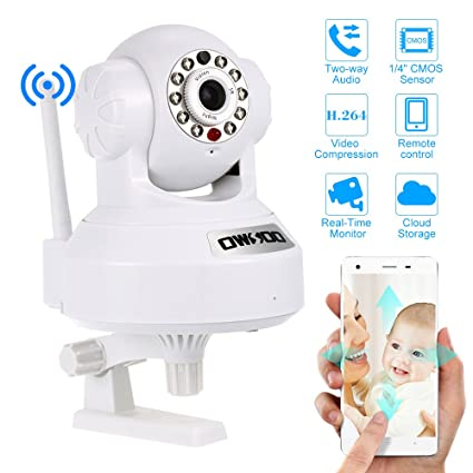 OWSOO IP Cloud Camera CCTV Surveillance Security Network PTZ Camera Support  Cloud Storage P2P for Android/iOS APP Browser View IR-CUT Filter Infrared