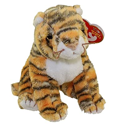 TY Beanie Baby - RUMBA the Tiger [Toy]: Toys & Games