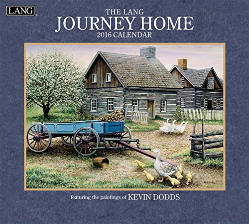 Lang Journey Home 2016 Wall Calendar by Kevin Dodds, January 2016 to December 2016, 13.375 x 24 Inches (1001920)