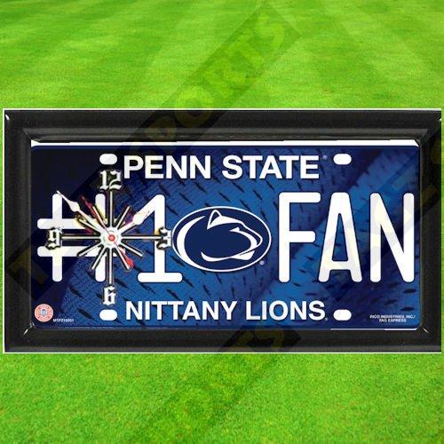 PENN STATE NITTANY LIONS NCAA CLOCK - BY TAGZ - Wall Penn Clock State