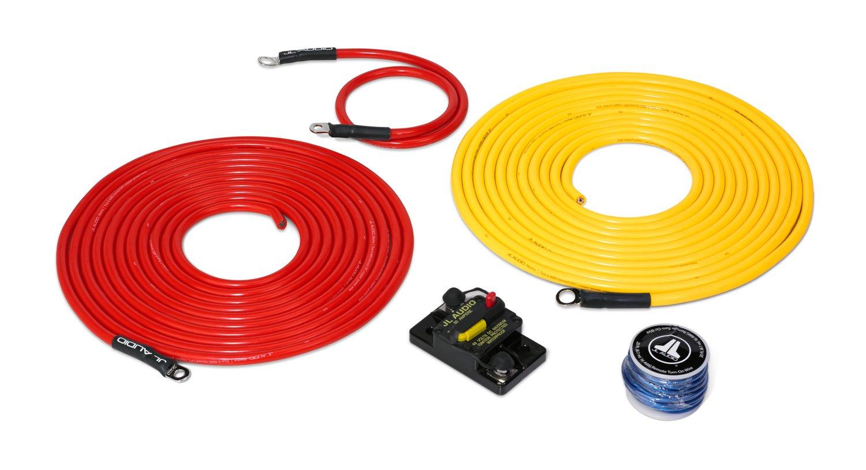 Jl Audio Amp Wiring Kit Library Epak8bl 8 Gauge Amplifier Installation Cable Amazoncom Xmd Pcs50a 1 L20 Premium 6 Awg
