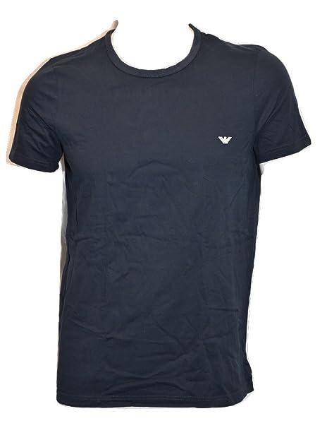 EMPORIO ARMANI UNDERWEAR - Camiseta Interior - para Hombre Azul Marino Small