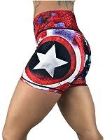 CrossFit Superhero Yoga Women's Booty Boy Gym Shorts (Several Styles)