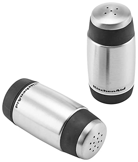 Amazon.com: KitchenAid Sal y pimienta Shakers: Kitchen & Dining