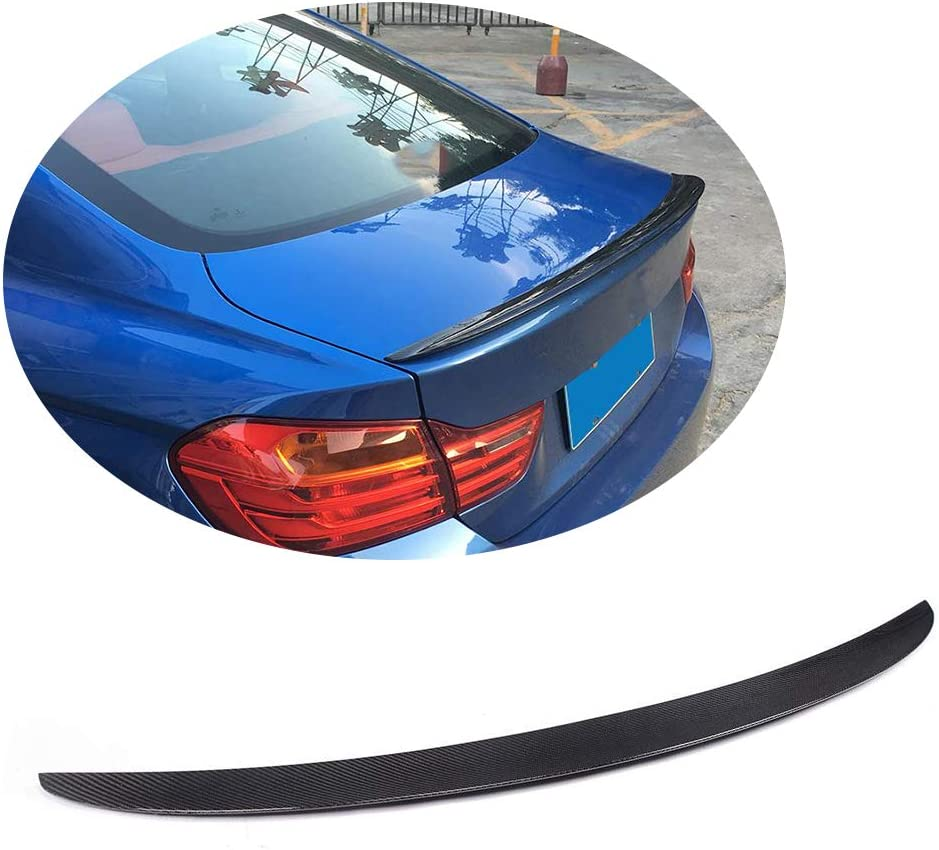 For BMW 2014-2018 F32 Coupe M4 Style Carbon Fiber Trunk Spoiler Lip 428i 435i
