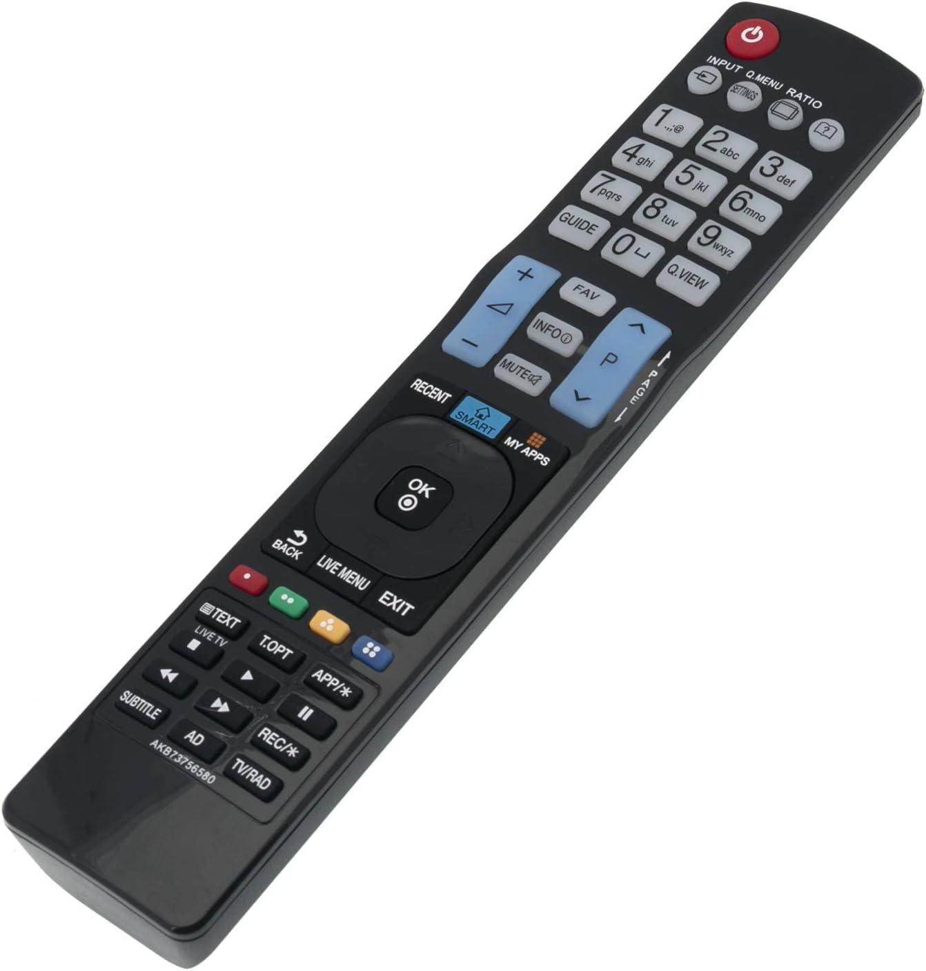 ALLIMITY AKB73756580 Control Remoto Reemplazar por LG TV 32LF6309 32LF630V 40LF6329 42LB630V 49LF6309 49LF630V 55LB630V 32LF6319 49LF6319 40LF6309 43LF6309 49LF6329 55LF6309 40LF6319 43LF6319: Amazon.es: Electrónica