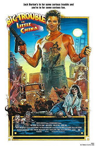 Big Trouble in Little China cm Movie Poster