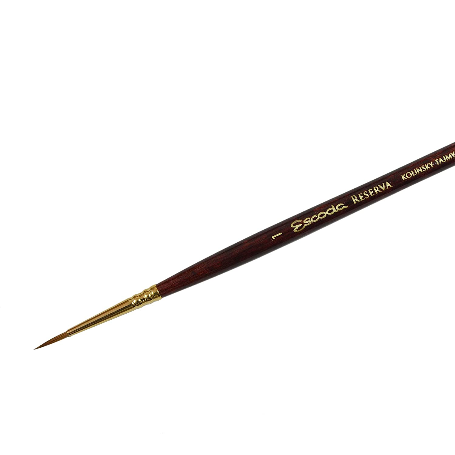 'Escoda : Kolinsky-Tajmyr Sable Round Watercolur Brush Series 1212 ( ferr...