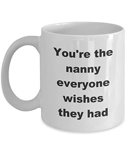 Worlds Best Nanny Mug