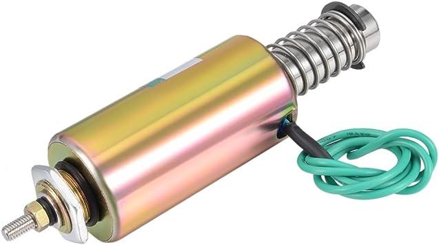 XRN-2.5 DC 12V Push Type Tubular Solenoid Electromagnet 6mm Stroke New
