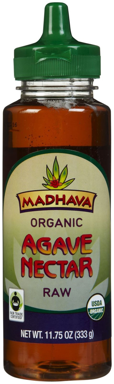 Madhava Organic Agave Nectar Raw - 11.75 oz