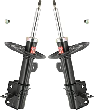 Pair Set of 2 Front KYB Suspension Strut and Coil Spring Kit For Nissan Sentra