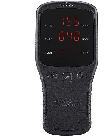 Haofy Monitor de Calidad del Aire Interior HCHO Formaldehyde Detector PM2.5 PM10 PM1 TVOC