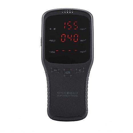 Monitor De Calidad del Aire Detector De Formaldehído Medidor Portátil De Formaldehído Digital Medidor Profesional Exactitud