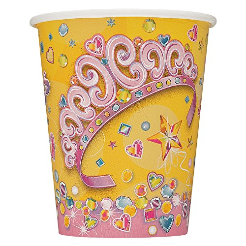9oz Pretty Princess Party Cups, 8ct