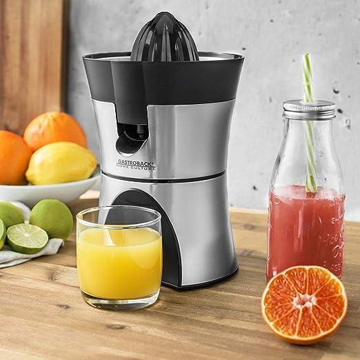 Gastroback 41138 Exprimidor zumo de naranjas eléctrico, sistema ...