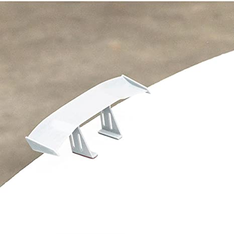 Universal Car Mini Spoiler Wing Creatiee Auto Car Tail Wing Auto Carbon Fiber Texture Decoration 6.7 Inch