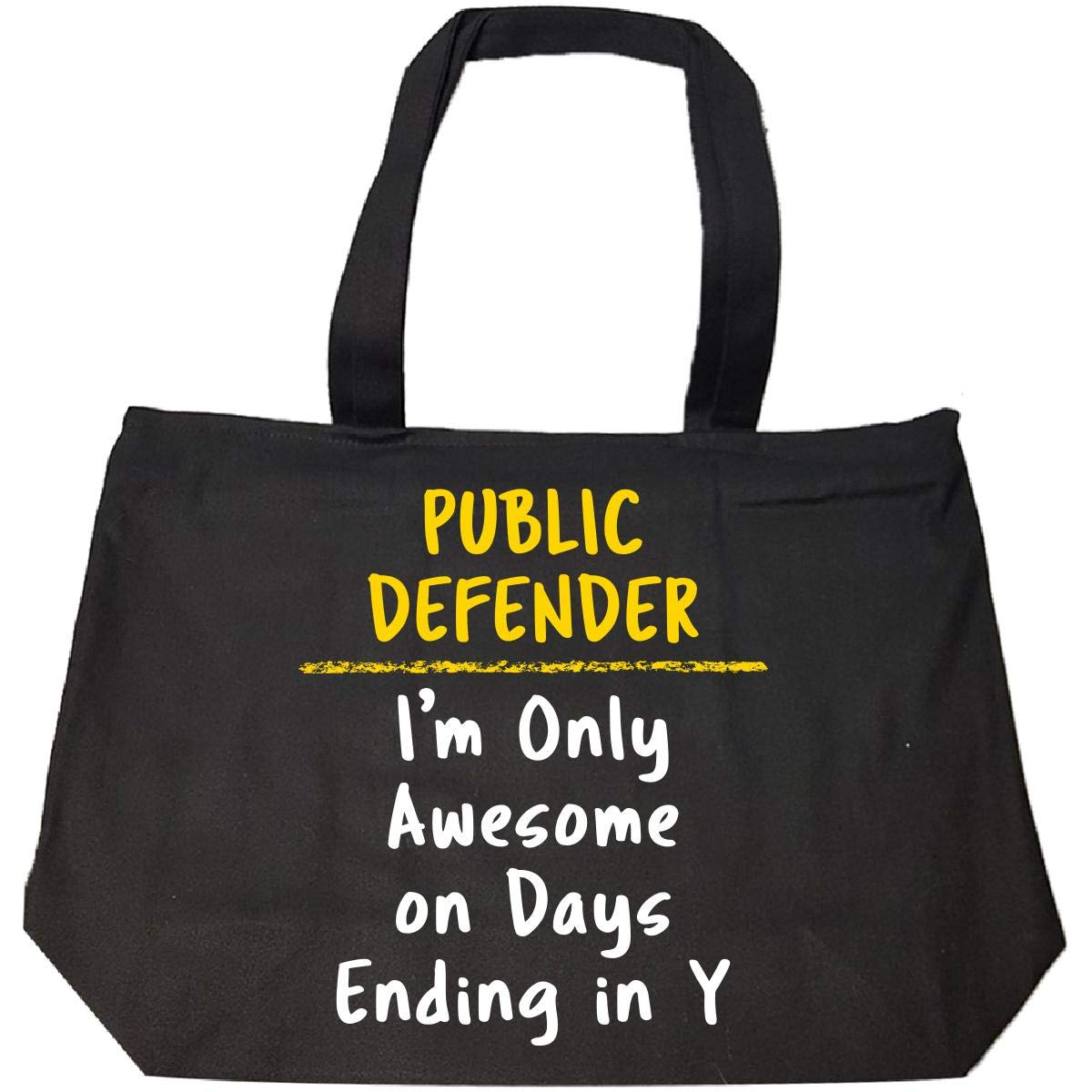 200a8c5652b7 Public Defender Awesome Sarcastic Funny Saying Office Gift - Tote ...