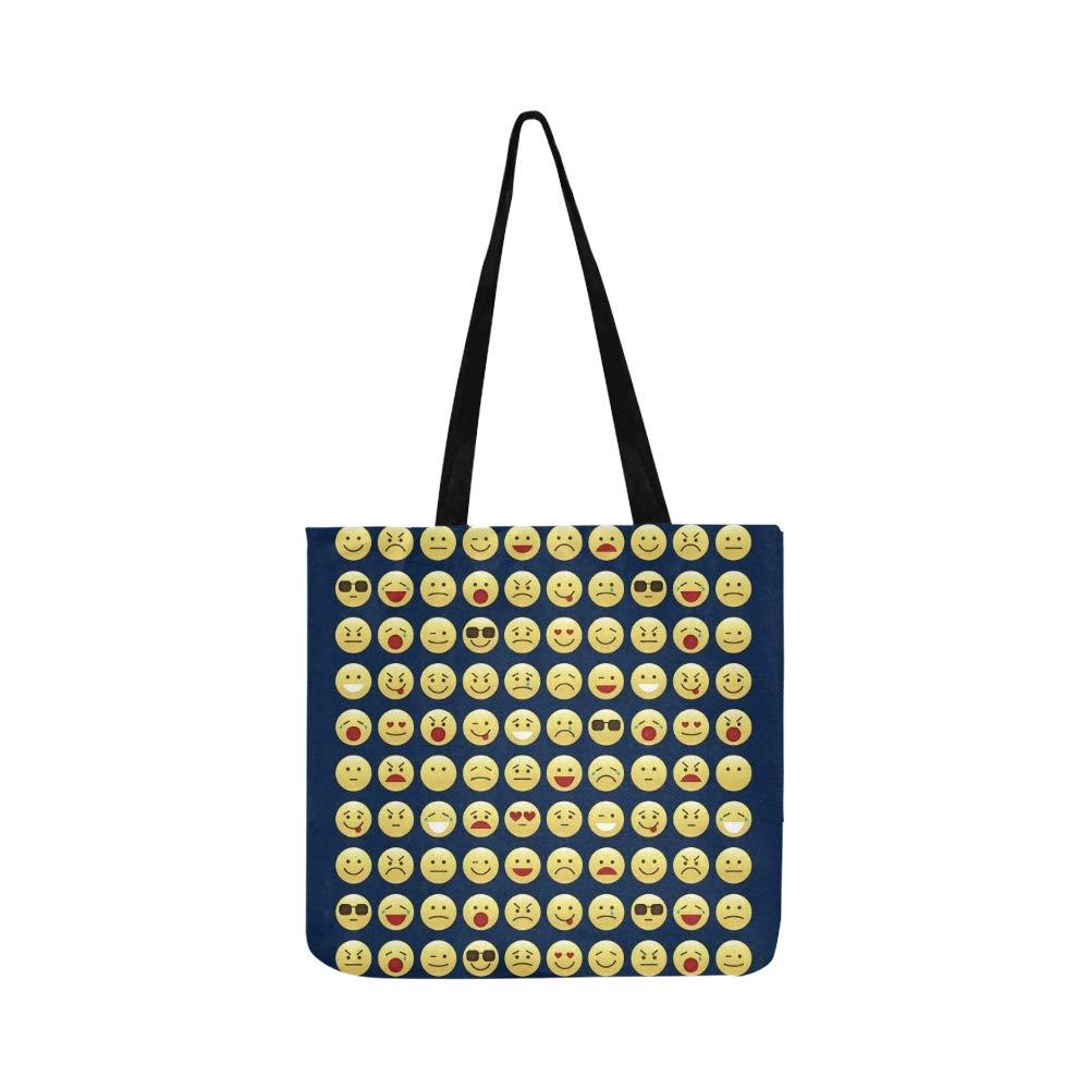 Fije los iconos de la sonrisa Emoticonos de Emoji Bolso de ...