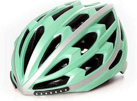 Casco De Bicicleta Inteligente con Control Remoto Inalámbrico Led ...