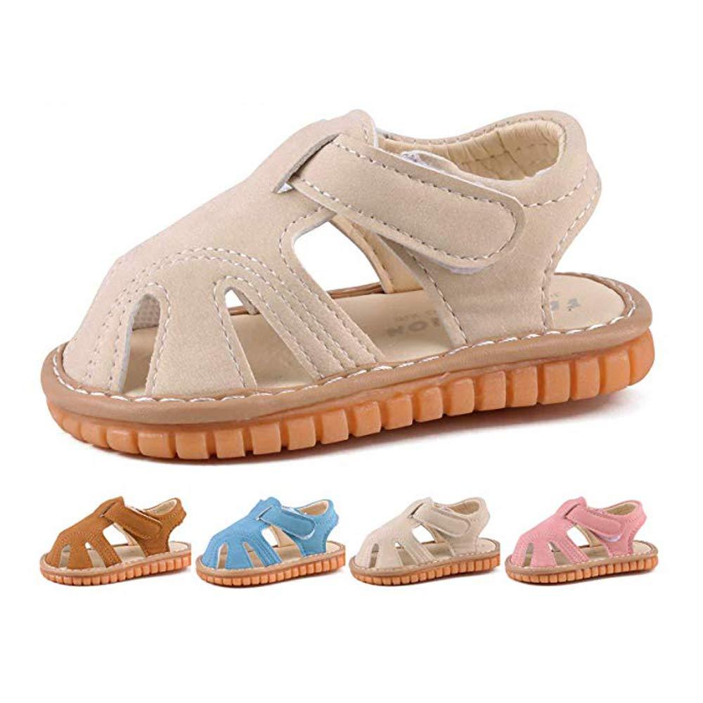 Amazon.com: Sandalias de goma para bebé y niña, suela de ...