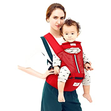 b4c68e36d4d3 iaxon Porte-bébé Ventral Sac Multifunctional, sécurité – Siège de Bébé  Nouveau-né