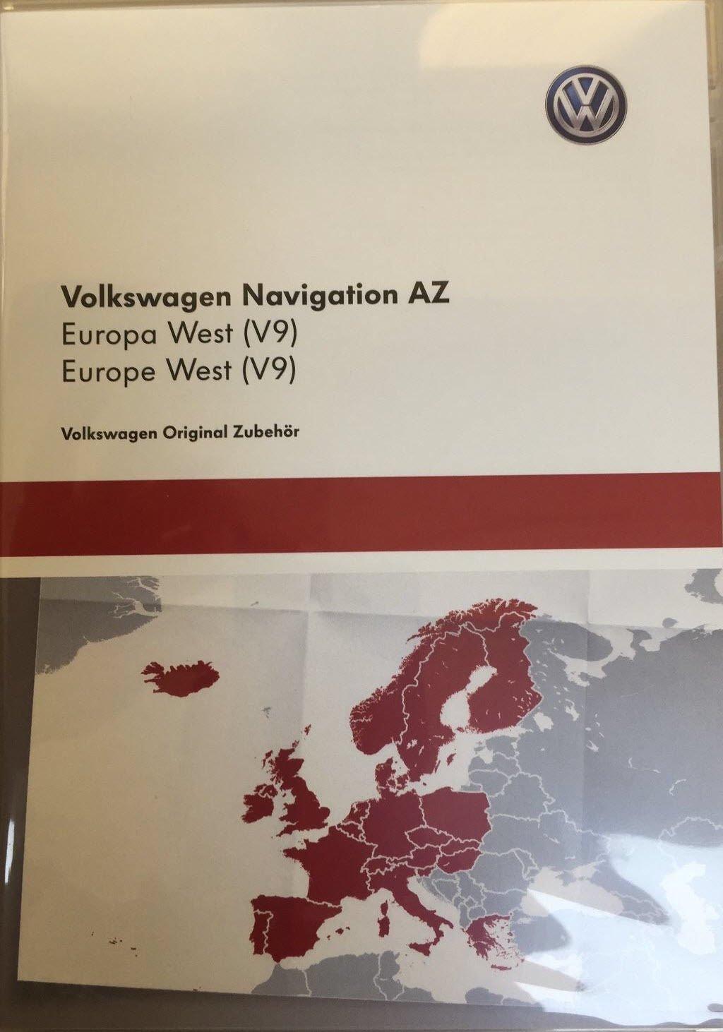 VW Skoda Seat RNS 315Amundsen V9Carte SD Carte europe Ouest aktualisierung17/18