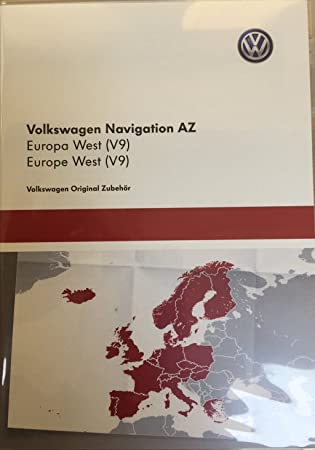 Vw Sd Karte.Vw Skoda Seat Rns 315 Amundsen V9 Sd Karte West Europe Karte Aktualisierung17 18