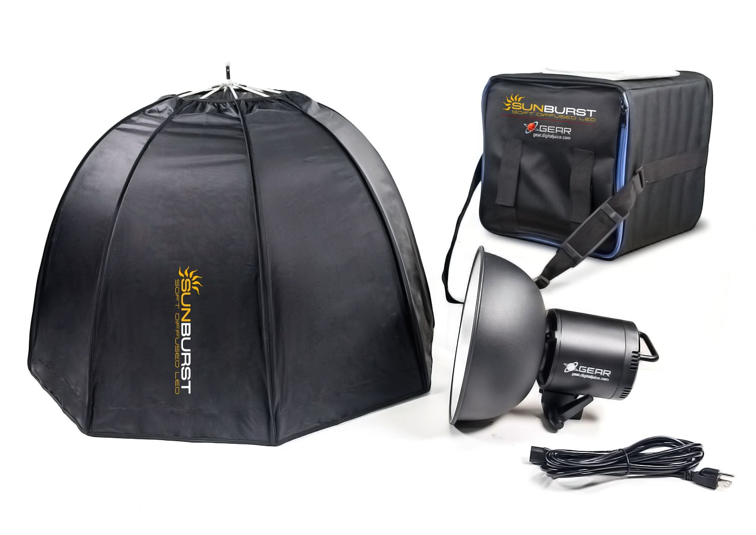 Digital Juice SunBurst 288 LED Softbox Kit
