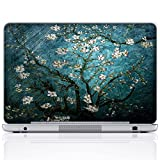 Meffort Inc 15 15.6 Inch Laptop Notebook Skin Sticker Cover Art Decal (Free wrist pad) - Vincent van Gogh Almond Blossoming