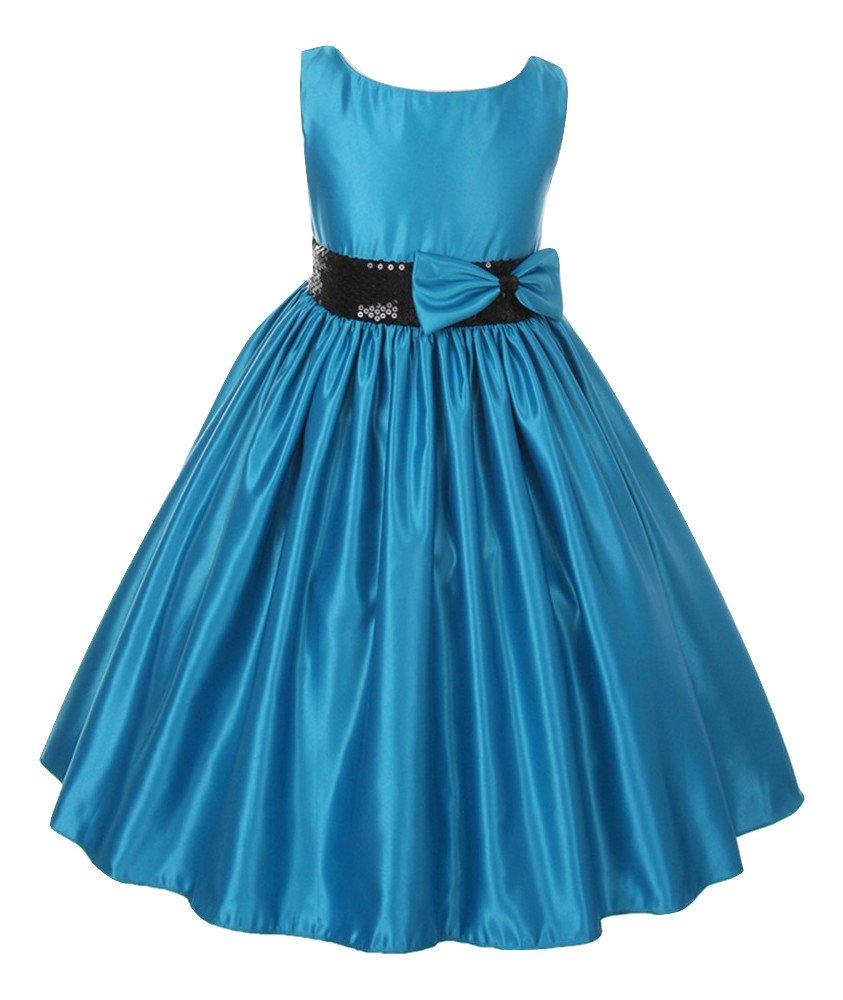 Fairy Dolls Satin Girl\'s Frock (SEQBELT9101): Amazon.in: Clothing ...
