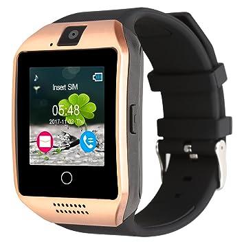 Padgene Q18 Reloj inteligente con cámara, Bluetooth, ranura para tarjeta SIM 2.0 y tarjeta