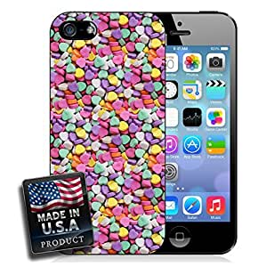 MMZ DIY PHONE CASECandy Hearts Sweets Valentine's Day iPhone 4/4s Hard Case