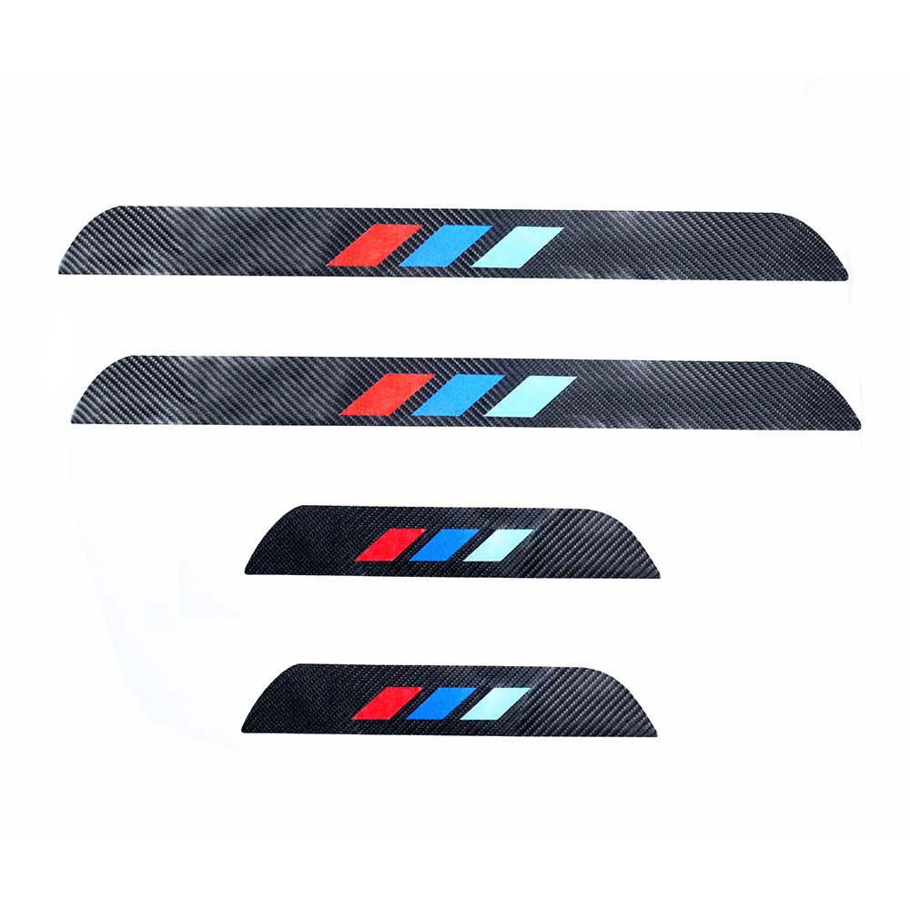 For 2014-2015 BMW 7 series 740i 740Li 750i 760i 4D M Styling Carbon Fiber Door Sill Cover Sticker