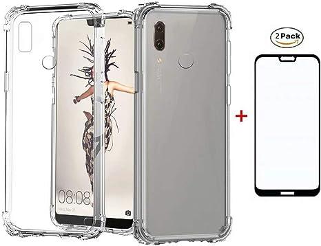 Funda para Huawei Honor 10 Lite Case + 2*Protector de Pantalla de ...