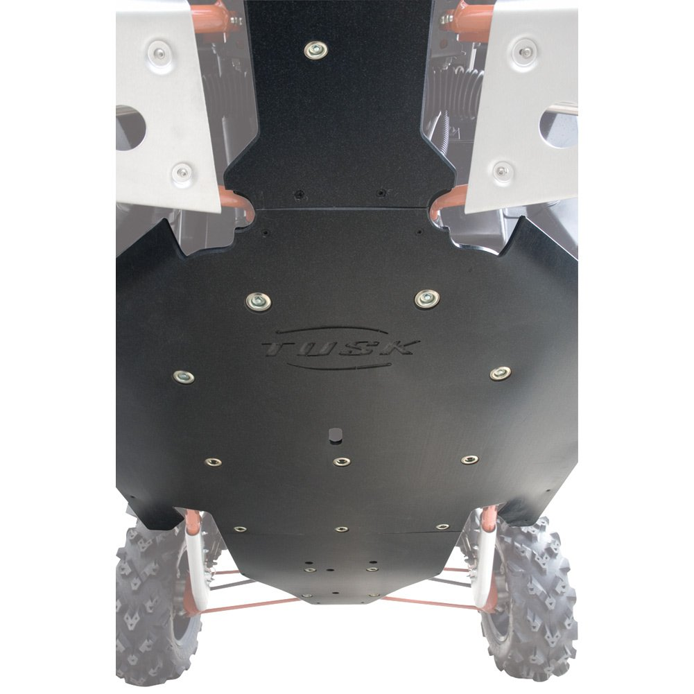 Tusk Quiet-Glide Skid Plate 3/8'' - Fits: Arctic Cat WILDCAT SPORT 700 2015 by TUSK