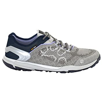 JACK WOLFSKIN Damen Schuhe CROSSTRAIL KNIT LOW W, grey haze