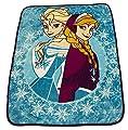 Disney Frozen Anna Elsa Microplush Throw Blanket 48 X 60 in Soft & Cozy