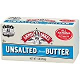 Land O Lakes Solid Unsalted Butter, 1 Pound -- 36 per case.