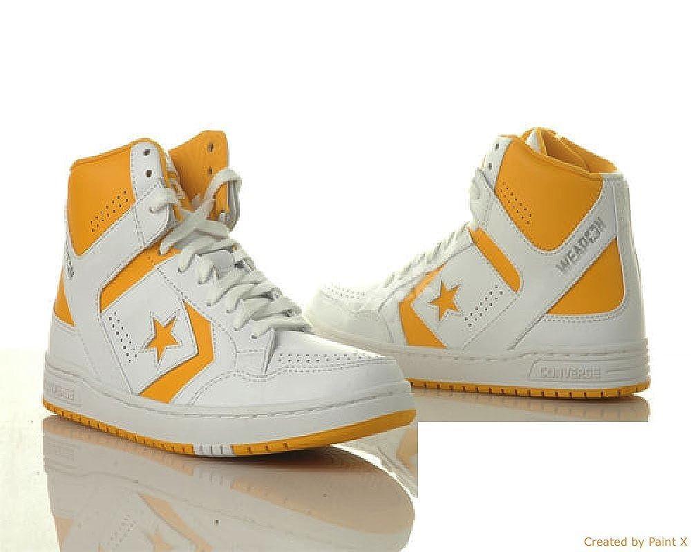 c458f32179e7 Converse Weapon 86 Magic Johnson Basketball Shoe 9.5 US  Amazon.ca  Shoes    Handbags
