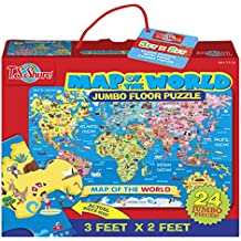 T.S. Shure Map of the World Jumbo Floor Puzzle